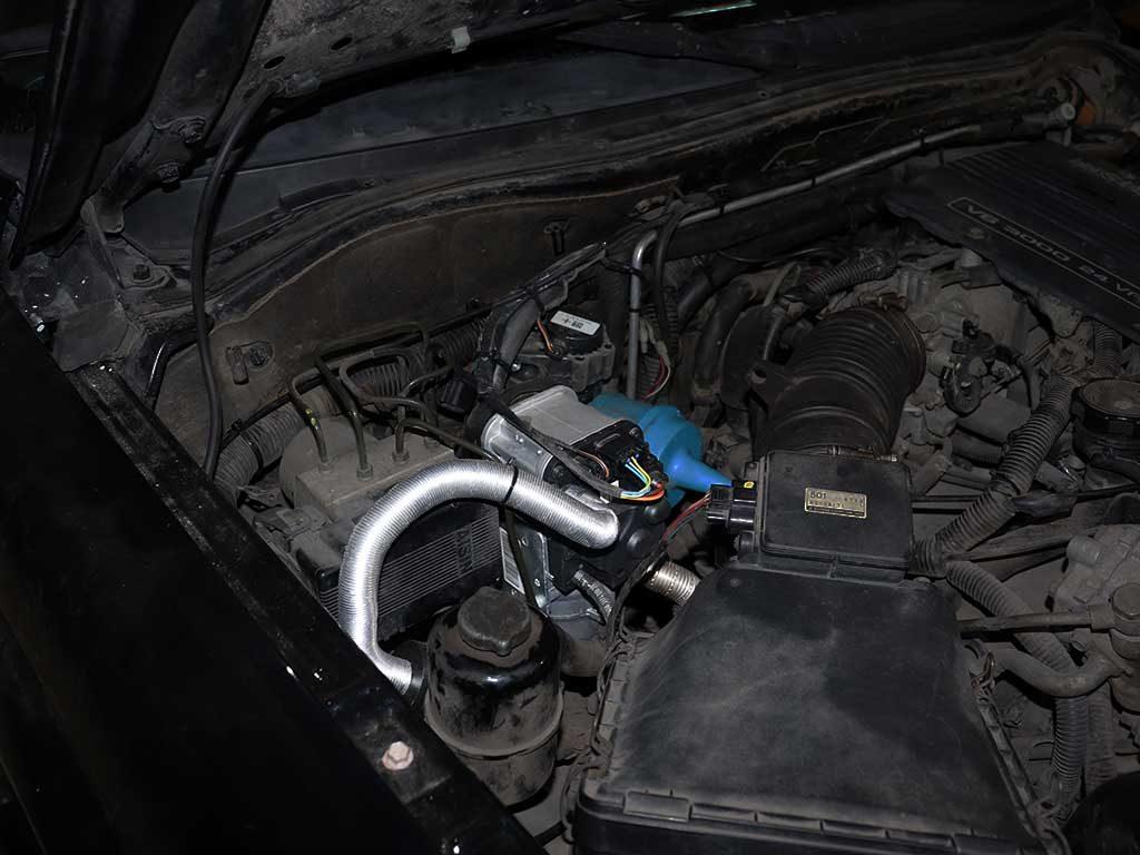 Mitsubishi Pajero Sport 1 . Webasto Thermo Top EVO 5 Квт. Бензиновая версия.