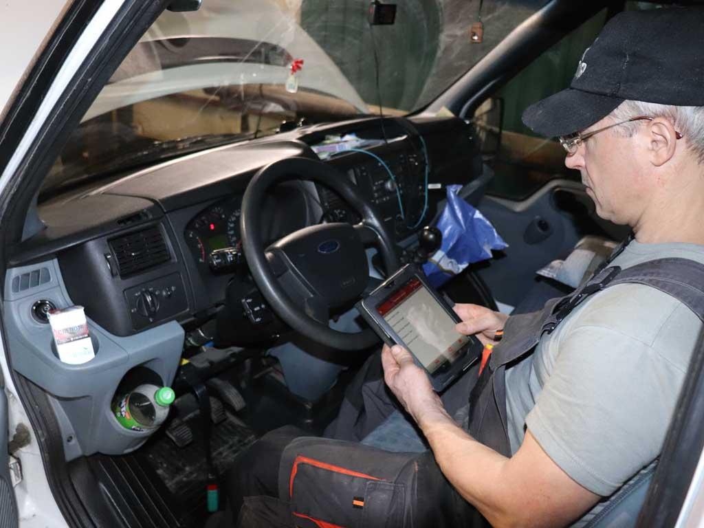 Диагностика Eberspaecher Ford Transit